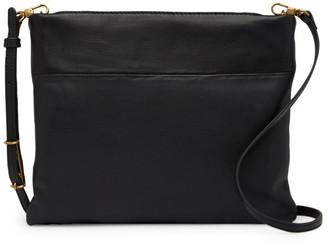 The Sak Tomboy Convertible Leather Clutch