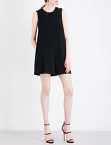 KENDALL + KYLIE Kendall & Kylie Open-back crepe playsuit