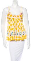 Diane von Furstenberg Embellished Top