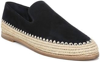 Vince Jalen Suede Raffia Sneakers