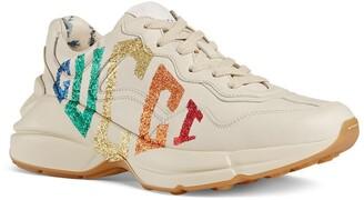 Gucci Rhyton Rainbow Logo Sneaker