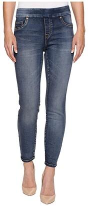 Tribal Pull-On Knit Denim 28 Ankle Jegging in Medium Wash (Medium Wash) Women's Jeans