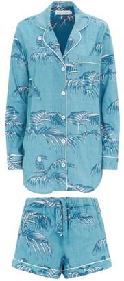 Desmond & Dempsey Bocas Print Pyjama Shorts Set