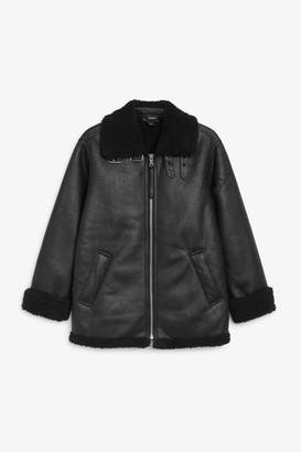 Monki Aviator jacket