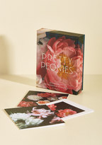 Chronicle Books Pretty Peonies Notecard Set