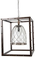 A&B Home Box Chandelier - Pewter