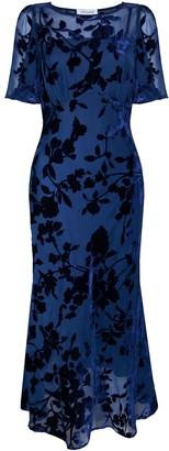 Isabella Collection Ukulele Dress Navy
