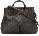 Marsèll popper fastening sides tote - women - Leather - One Size