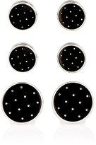 Barneys New York Men's Polka Dot Formal Set-BLACK