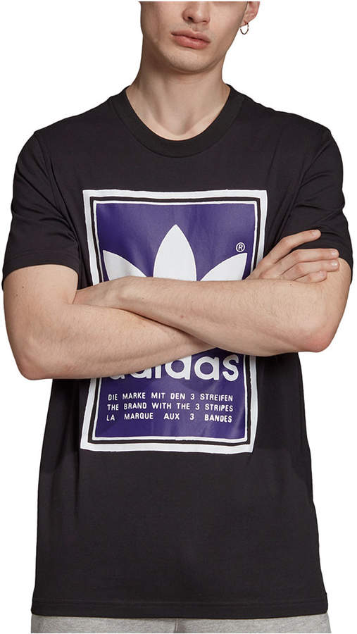 Adidas T Shirt Shirt Raglan Trefoil Originals 3 Stripes