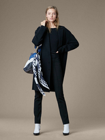 Diane von Furstenberg Long Sleeve Oversized Knit Coat