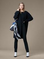 Diane von Furstenberg Long Sleeve Oversized Knit Coat