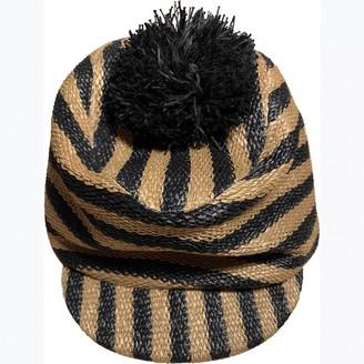 Burberry Gold Viscose Hats