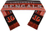 Forever Collectibles Cincinnati Bengals Glitter Stripe Scarf