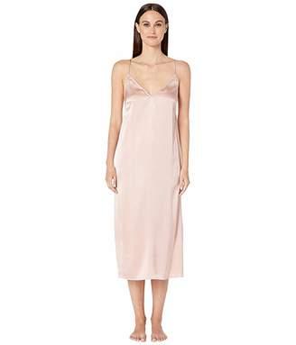 Skin Rosamonde Silk Chemise (Rosehip) Women's Underwear