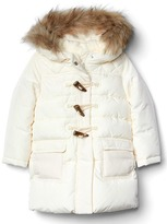 Gap Fur-trim duffle jacket