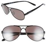 Oakley Women's 'Tie Breaker Prizm(TM) Daily' 56Mm Polarized Sunglasses - Black/ Prizm Daily Polar