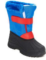 Blue & Red Snow Boot
