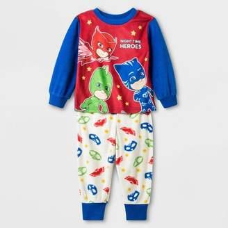 PJ Masks Toddler Boys' 2pc PJ Mask Fleece Pajama Set - Blue/Red