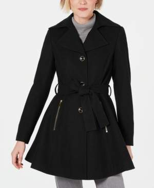 INC International Concepts Inc Petite Skirted Walker Coat, Created for Macy's