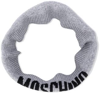 MOSCHINO BAMBINO Logo Snood