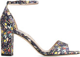 LK Bennett Helena floral leather sandals