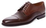 Gordon Rush Leather Cap-Toe Derby Shoe