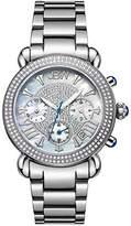 """JBW Women's JB-6210-160-A """"Victory"""" Stainless Steel 1.5-Carat Diamond Watch"""