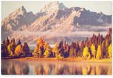 Graham & Brown Autumnal Mountains Canvas Print