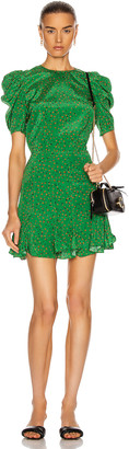 Veronica Beard Lila Dress in Green Multi | FWRD