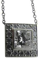 Tiffany & Co. Platinum & 1.36ct. Diamond Pendant Necklace