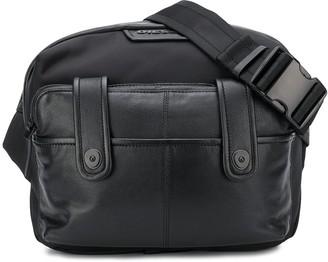 Diesel Panelled Cross Body Bag