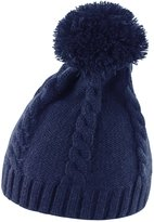 Result Headwear Result Ladies/Womens Cable Knit Pom Pom Winter Beanie Hat
