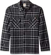 Dickies Men's Long Sleeve Lined Workwear Shirt Jacket