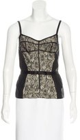 Dolce & Gabbana Lace Sleeveless Top w/ Tags