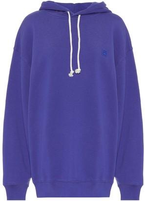 Acne Studios Face cotton-jersey hoodie