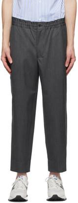 Comme des Garçons Homme Deux Grey Herringbone Trousers