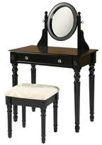 Linon Home Décor Linon Vanity Black