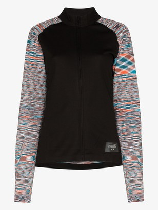adidas x Missoni zip-up sweater
