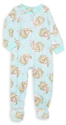 AME Sleepwear Little Girl's Disney Frozen Footie