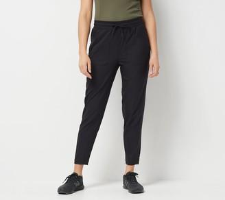 zuda Petite Z-Eco Cityscape Ankle Length Pants