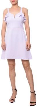 Planet Gold Juniors' Sweetheart A-Line Dress