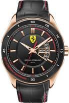 Ferrari Men's Gran Premio 0830185 Leather Analog Quartz Watch
