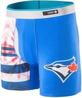 Stance Men's MLB Tie Dye Toronto Jays Boxer Brief Underwear L