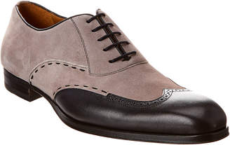 Mezlan Suede & Leather Oxford