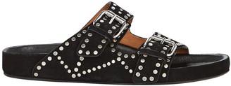 Isabel Marant Lennyo Leather Slide Sandals