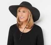 San Diego Hat Co. Paperbraid Sun Hat with Chin Strap & UPF 50
