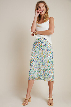 Maeve Ara Beaded Bias Midi Skirt By in Assorted Size S