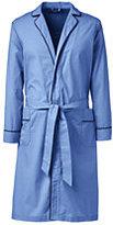 Classic Men's Broadcloth Robe-Khaki