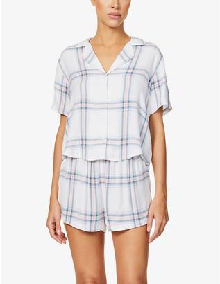 Rails Darcie checked woven pyjama set